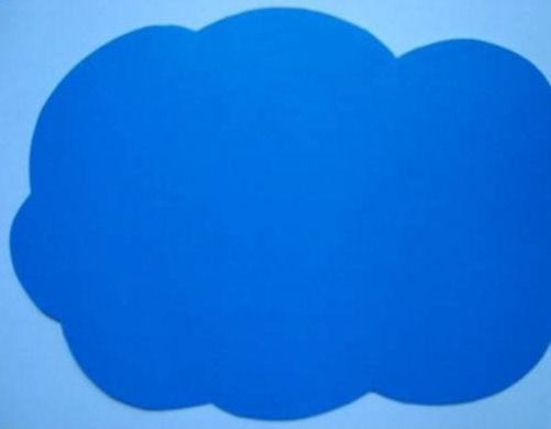 Como hacer una nube de fomi imagui - Como hacer una nube ...