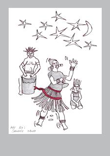 KES Christmas card - dancers