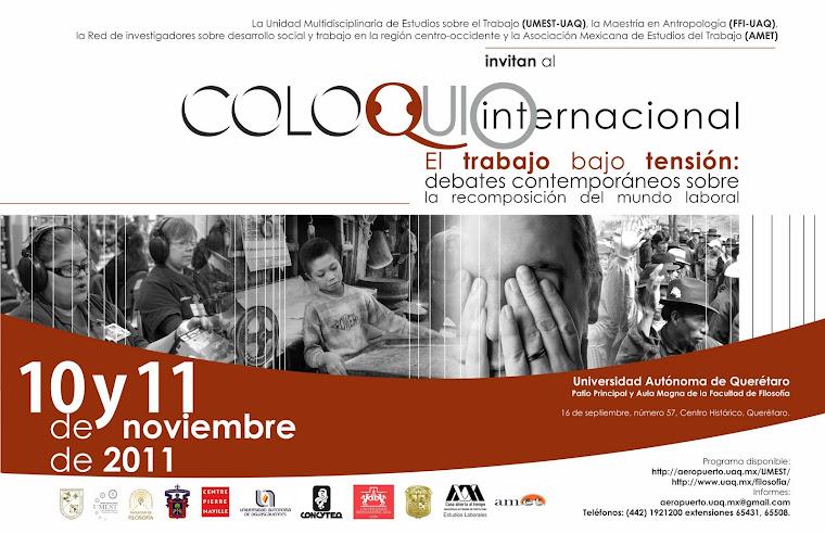 Coloquio Internacional UMEST-FFI-UAQ