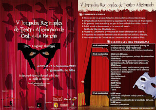 V Jornadas Regionales de Teatro Aficionado de Castilla-La Mancha, Argamasilla de Alba.