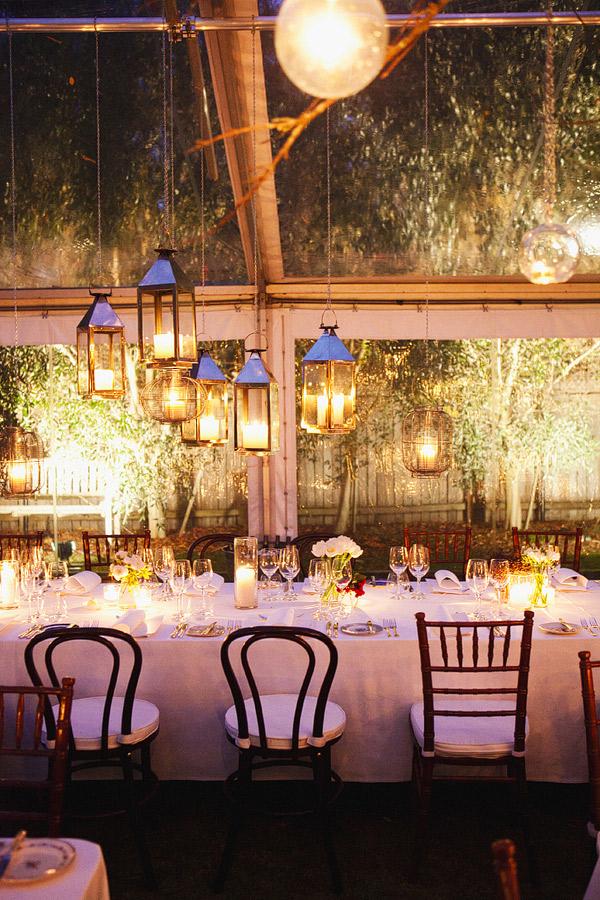 Love love una boda chic - Farolillos para velas ...