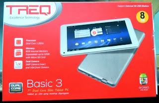 TREQ Basic3 Dual Core Tablet Android Jelly Bean