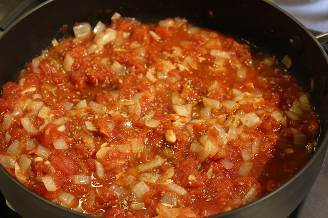 Cooking for one, my fave tomato sauce