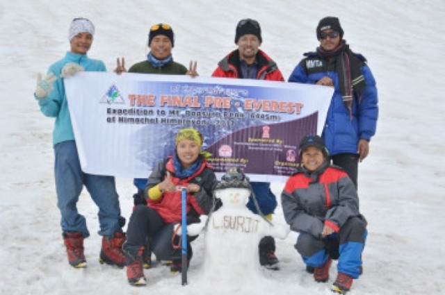 Assamese Youth Makes History To Conquer Mt. Everest