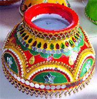 navratri pot decoration | God Wallpapers