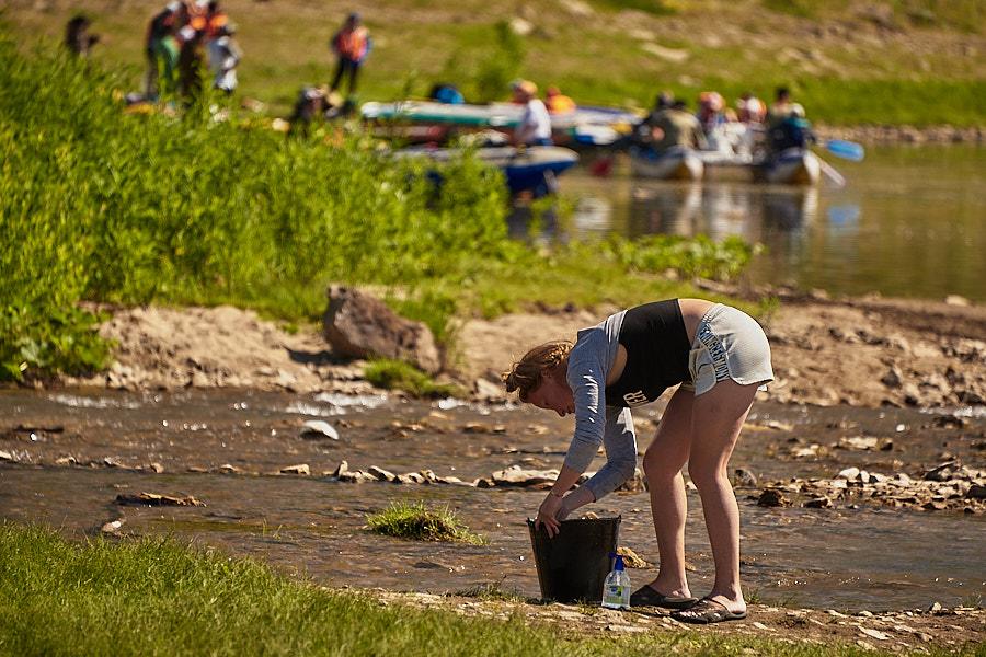 Сплав по реке Ай. День третий