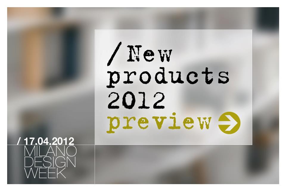 Milano Design Week 2012 : B&B Italia preview ~ Design Scene