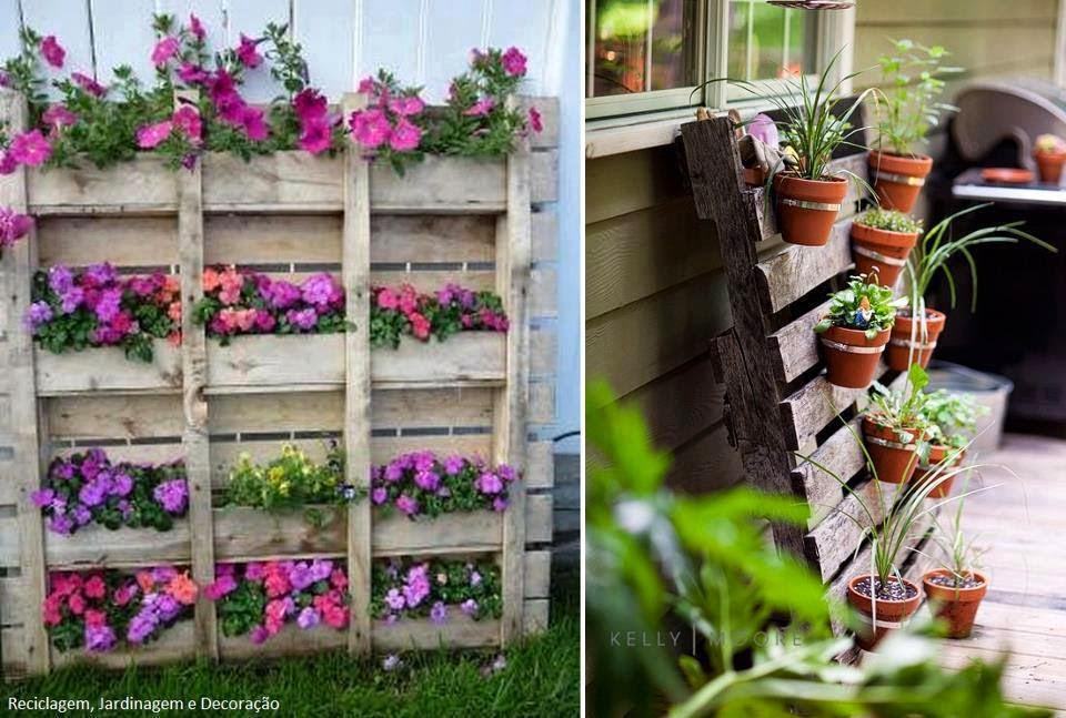 El detalle que hace la diferencia palet mania for Bases para jardineras