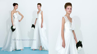 Avorio e verde menta by Atelier Aimee 2013 Wedding Dresses