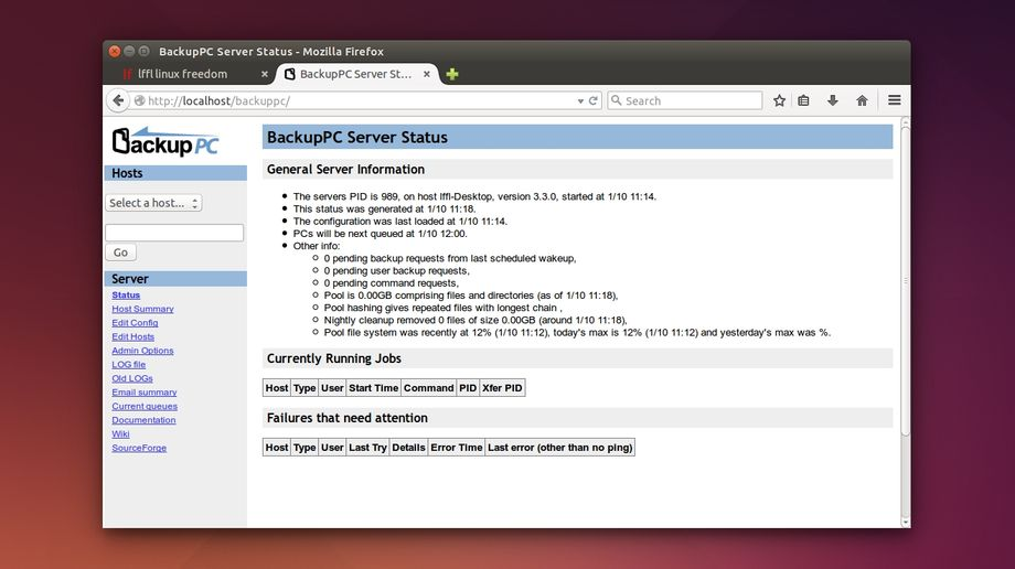 BackupPC in Ubuntu