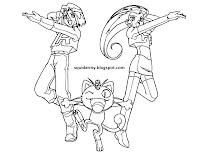 Pokemon coloring pages – team rocket