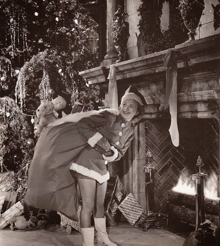 Thelma Todd Merry Christmas