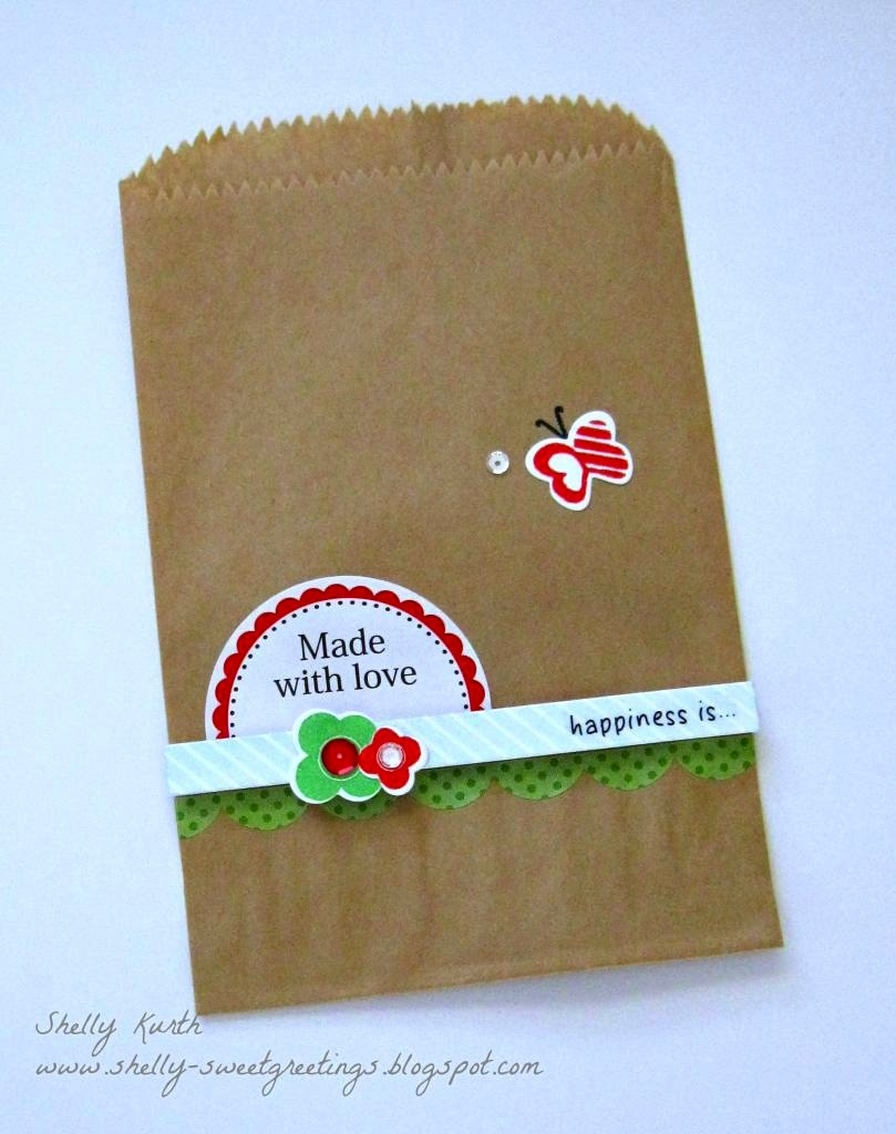 SRM Stickers Blog - It's in the Bag! by Shelly - #kraft #bag #labels #stickers #borders