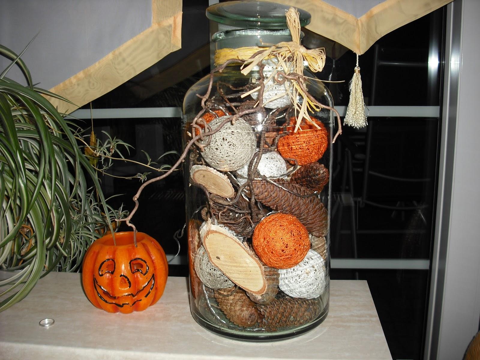 Woll dekoelfe herbstdeko for Herbstdeko im glas
