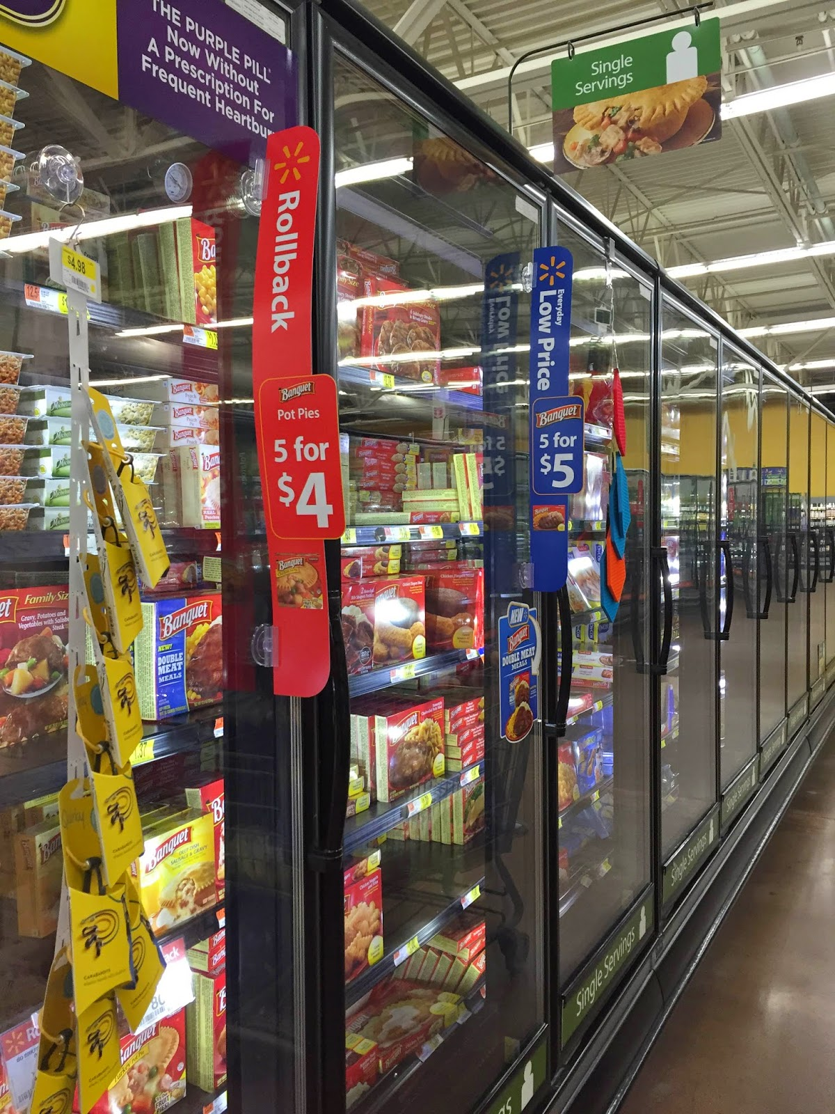 Rollback the Prices on Banquet and Chef Boyardee at Walmart