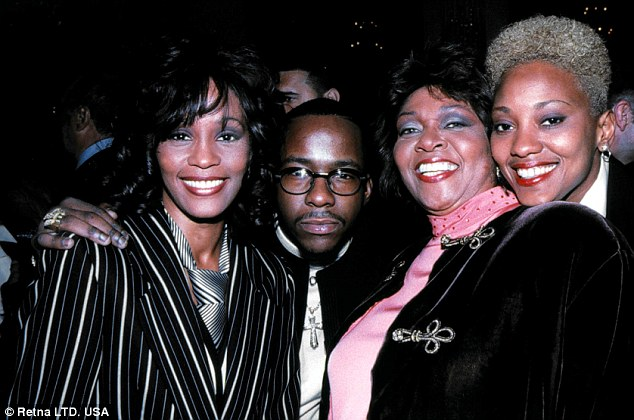 Robyn Crawford And Whitney Houston Funeral