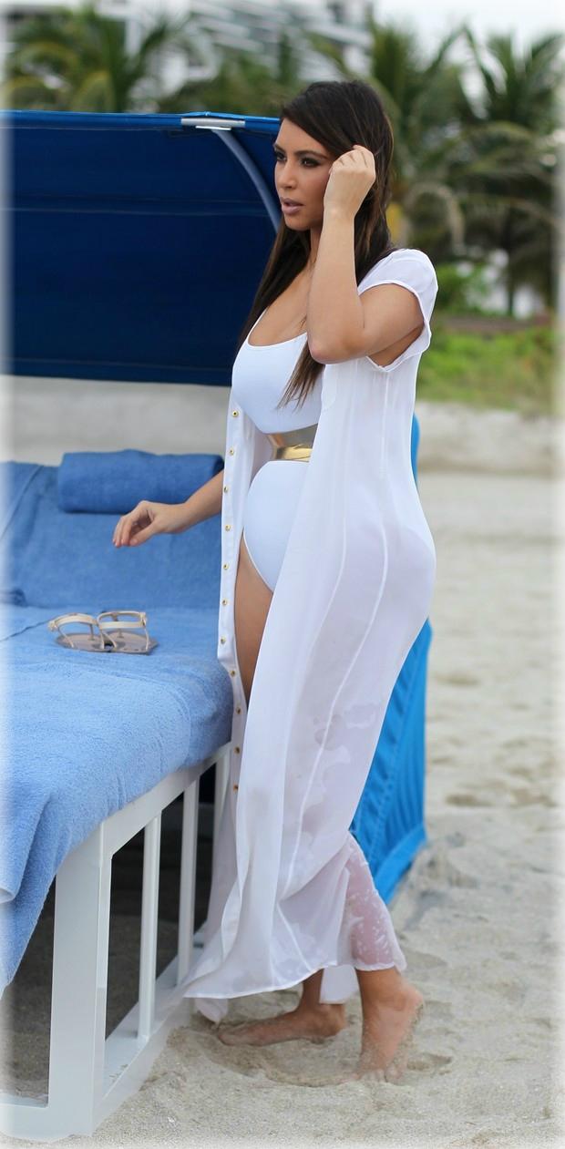 Kim Kardashian embarazada de Kanye West - FARANDULA INTERNACIONAL