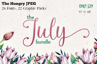 July Bundle by Hungry JPEG