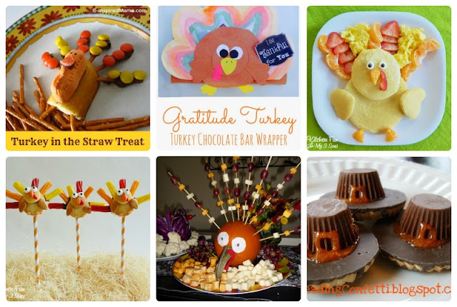 More than 50 Thanksgiving ideas for kids including crafts, printables, learning activities, food, and more