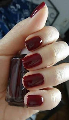 nail polish, fall colors, essie, oxblood