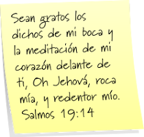 Salmo 19:14.