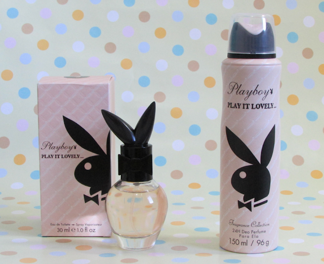 Resenha, Desodorante, perfume, Play It Lovely, Playboy