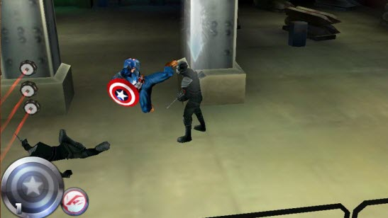 Captain America 3D Game for Android