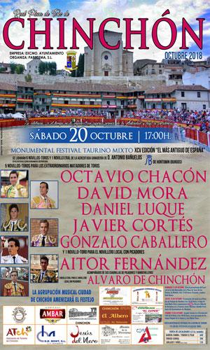 CHINCHÓN (ESPAÑA) 20-10-2018. EL FESTIVAL MAS ANTIGUO DE ESPAÑA.