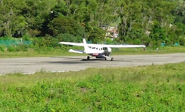 Confirmado: Bomberos de Piedecuesta hallaron resto de la avioneta estrellada en la Mesa de los Santos, según Aerocivil no hay sobrevivientes