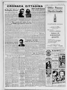 LA STAMPA 9 MARZO 1949