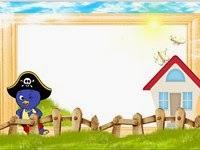 moldura Pirata Pablo bakyardigans