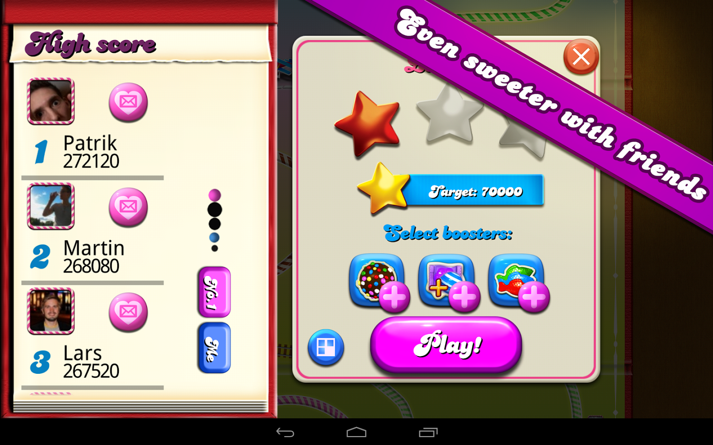 Candy Crush Saga Android Apk Oyun resimi 3