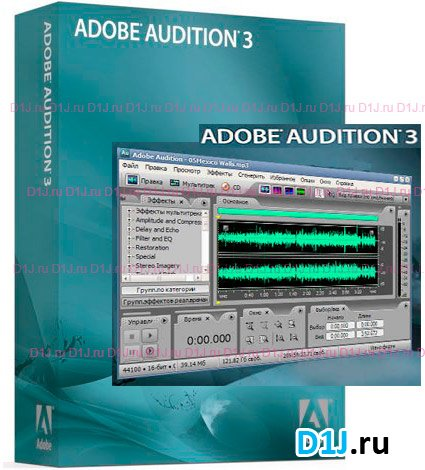 Free Download Adobe Audition 3.0 Build 7283.0