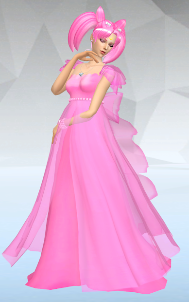 sims 4 princess small lady