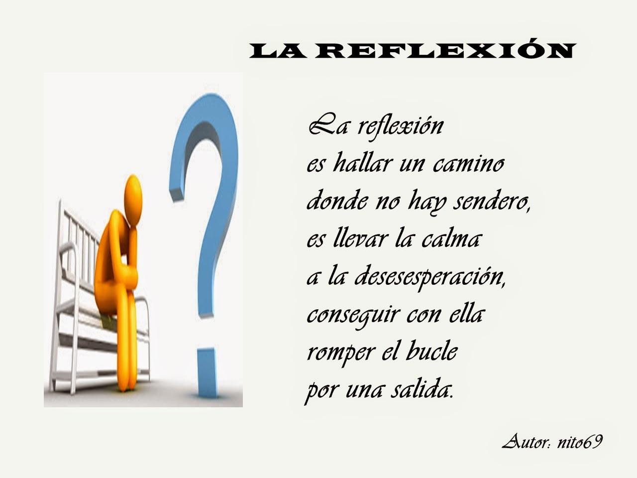 LA REFLEXIÓN