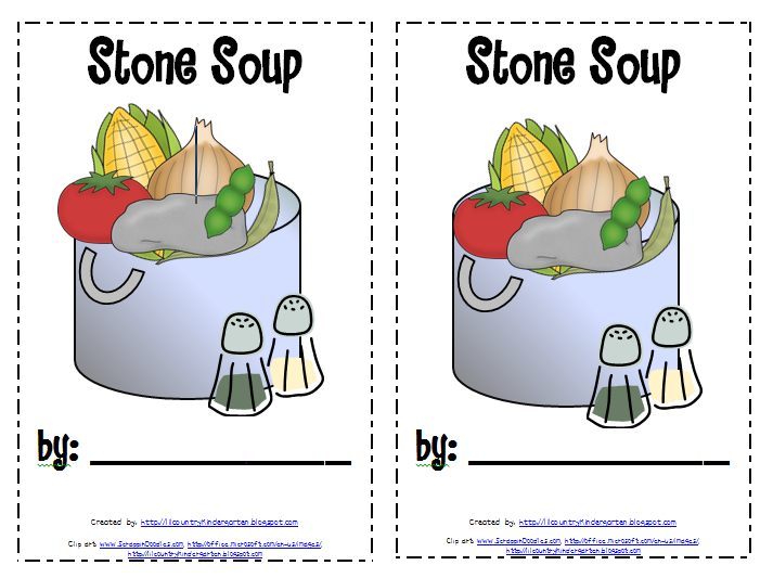 This is a picture of Critical Stone Soup Story Printable