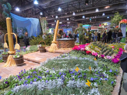 Philadelphia Flower Show movie display Sorcerer's Apprentice