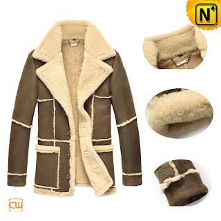 Mens Shearling Coat