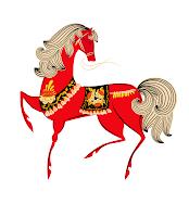 Клипарт лошадь. 2014 год.