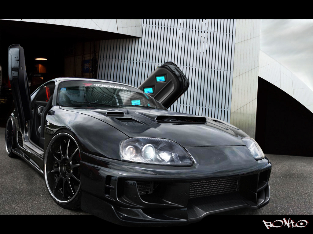 Black Toyota Supra Wallpaper Free Wallpapers Of The Most