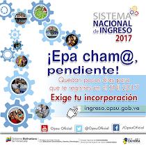 Sistema Nacional de Ingreso Universitario 2017