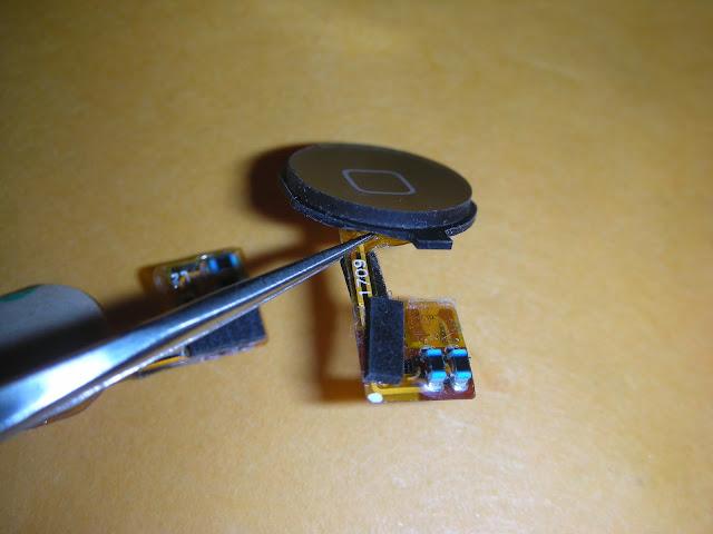蘋果 iphone 3g home 鍵按鈕維修記