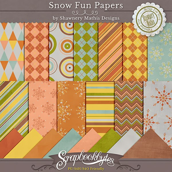 The colors of this kit are kind of vintage wintery colors. They are not your traditional colors, they are fun and fantastic.