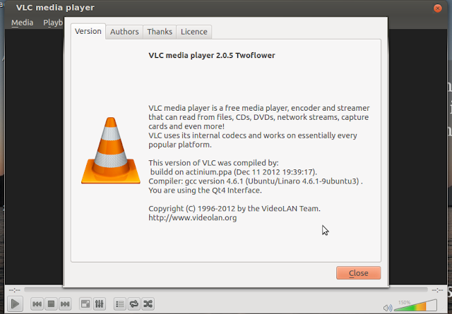 how to install vlc media player in ubuntu 12.10/12.04