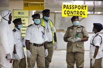 Nigeria entry ports for Ebola control