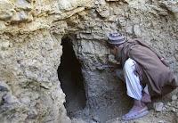 Cave at Tora Bora, Afghanistan