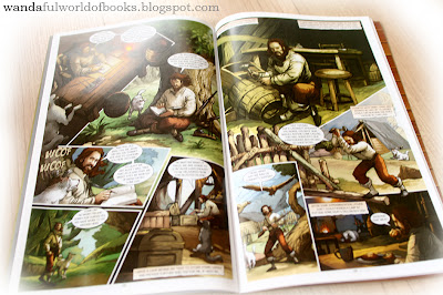 Robinson Crusoe Graphic Novel by Campfire