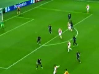 اهداف مباراة باريس سان جيرمان و أياكس أمستردام 3 - 1 [25-11-2014]