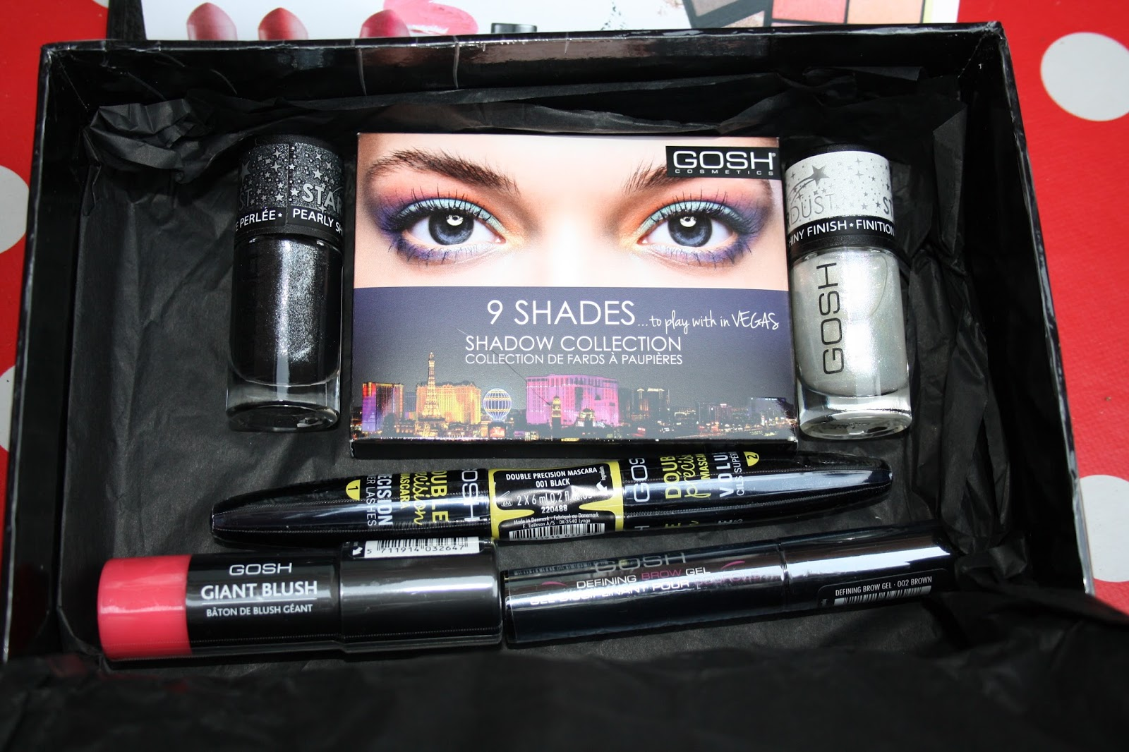 GOSH Cosmetics AW14 range