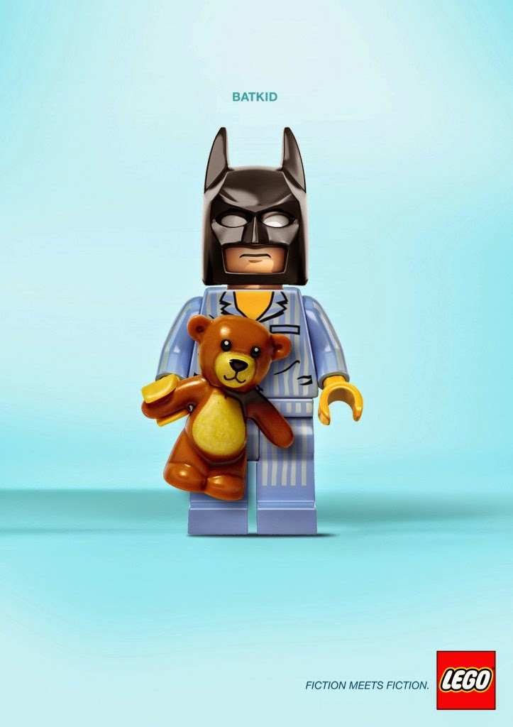 LEGO, Fiction meets fiction, Batman y niño